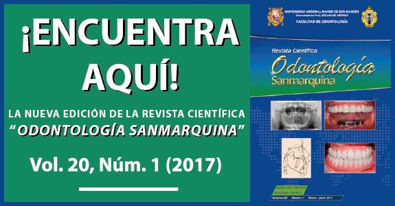 Revista Odontología Sanmarquina | 2017 - I